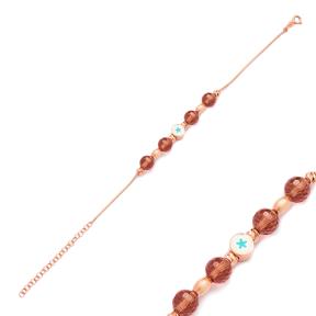 Zultanite Stone Star Design Charm Bracelet Wholesale 925 Sterling Silver Jewelry