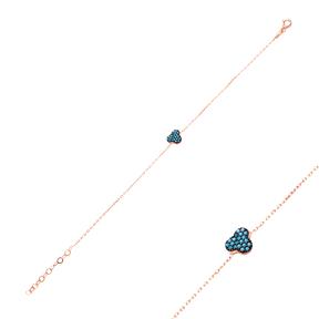 Micro Turquoise Turkish Wholesale Silver Bracelet