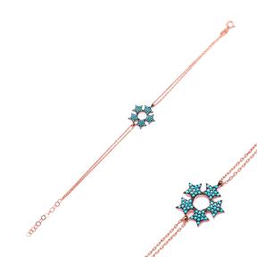 Sterling Silver Wholesale Handcraft Turkish Star Design Bracelet