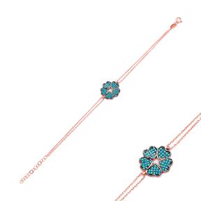 Sterling Silver Wholesale Handcraft Turkish Heart Design Bracelet
