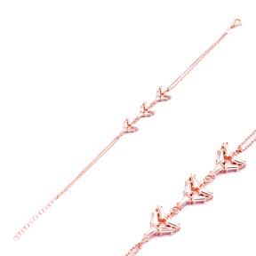 Baguette Geometric Shape Sterling Silver Wholesale Handcraft Turkish Bracelet Jewelry