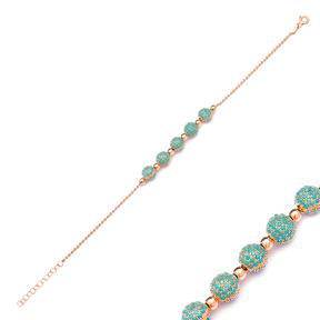 Ball Bracelet Wholesale Handcraft Silver Sterling Jewelry