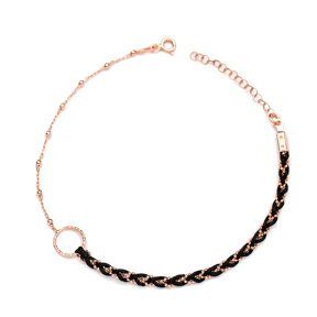 Dainty Unique Design Ball Chain Anklet Wholesale Handmade Turkish 925 Sterling Silver Jewelry