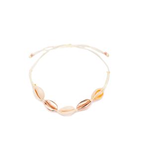 Seashell Design 925 Sterling Silver Jewelry Bracelet