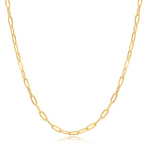 Stunning Chain Silver Necklace