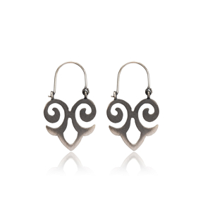 Filigree Design Vintage Earrings Handcrafted Wholesale 925 Sterling Silver Jewelry