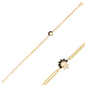 Small Star Zircon  Zircon Bracelet Turkish Wholesale 925 Sterling Silver Jewelry
