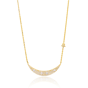 Long Chain Necklace Turkish Wholesale 925 Sterling Silver Jewelry