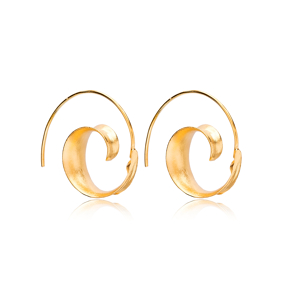 New Plain Design Vintage Earrings Handcrafted Wholesale 925 Sterling Silver Jewelry