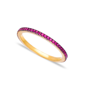 Stacking Skinny Ring Wholesale Turkish Handcrafted 925 Sterling Silver Jewelry