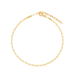 Snail Chain High Quality Chain Anklet Wholesale Handmade 925 Sterling Silver Jewelry