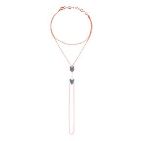 Micro Turquoise Arrow Turkish Wholesale Silver Slave Bracelet
