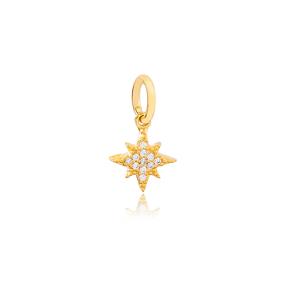 Star Shape Dangle Charm 925 Sterling Silver Handmade Wholesale Turkish  Jewelry