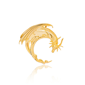 Dragon Animal Charm 925 Sterling Silver Handmade Wholesale Turkish  Jewelry
