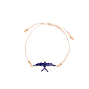 Phoenix Design Handmade Adjustable Turkish Wholesale Silver Knitting Bracelet