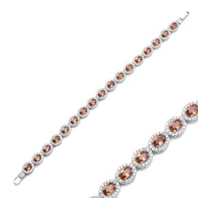 Zultanite Stone Oval Shape Elegant Bracelet 925 Silver Sterling Wholesale Handcrafted Jewelry