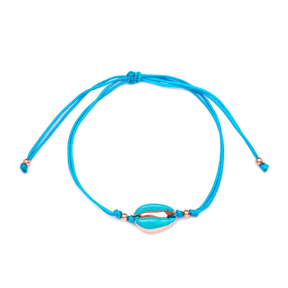 Turquoise Color 15 x 10 mm Size Seashell Design Adjustable Knitting Bracelet Turkish Wholesale Handmade 925 Sterling Silver
