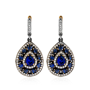 Authentic Silver Earring In Turkish Wholesale 925 Sterling Silver Jewelry