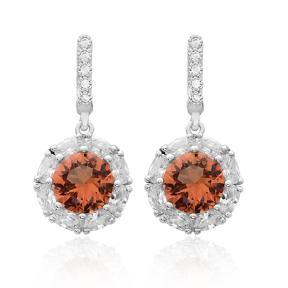 New Design Zultanite Stone Earrings Turkish Wholesale 925 Sterling Silver Jewelry