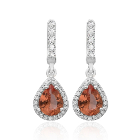 Elegant Zultanite Stone Earrings Turkish Wholesale 925 Sterling Silver Jewelry