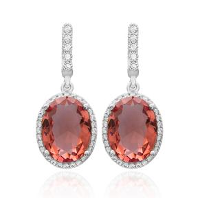 Diamond Cut Zultanite Stone Earrings Turkish Wholesale 925 Sterling Silver Jewelry