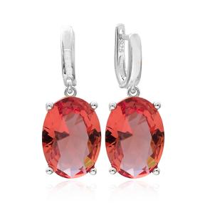Zultanite Stone Oval Shape Earrings Turkish Wholesale 925 Sterling Silver Jewelry
