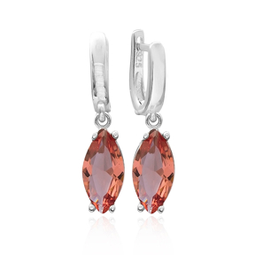 Trendy Oval Shape Zultanite Stone Earrings Turkish Wholesale 925 Sterling Silver Jewelry