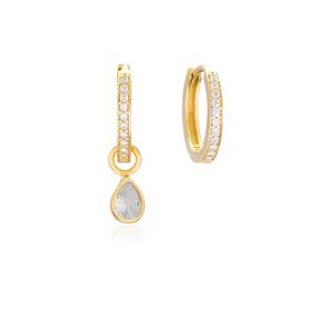 Elegant Earrings Handmade 925 Sterling Silver Jewelry