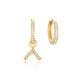 Boomerang Shape Earrings Wholesale Handmade 925 Sterling Silver Jewelry