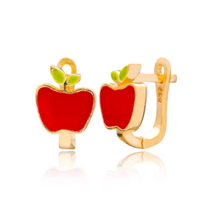 Apple Design Turkish Handmade Wholesale 925 Sterling Silver Jewelry