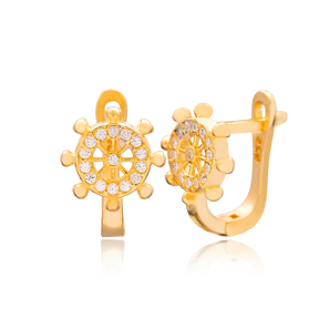 Rudder Design Turkish Handmade Wholesale 925 Sterling Silver Jewelry
