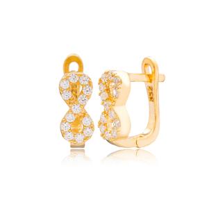 New Infinity Design Turkish Handmade Wholesale 925 Sterling Silver Jewelry