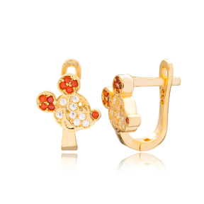Fashionable Mouse Design Turkish Handmade Wholesale 925 Sterling Silver Jewelry