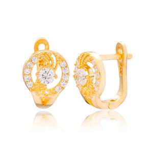 Round Shape Design Turkish Handmade Wholesale 925 Sterling Silver Jewelry