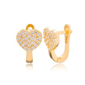 Heart Shape Design Turkish Handmade Wholesale 925 Sterling Silver Jewelry