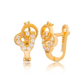 Heart and Diamond Shape Design Turkish Handmade Wholesale 925 Sterling Silver Jewelry