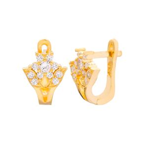 Minimalist Rose Design Turkish Handmade Wholesale 925 Sterling Silver Jewelry