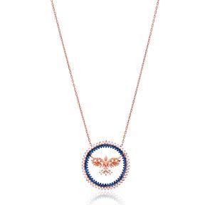 Phoenix Bird Pendant Turkish Wholesale 925 Sterling Silver Jewelry