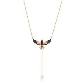 Lariant Phoenix Bird Necklace Turkish Wholesale 925 Sterling Silver Jewelry