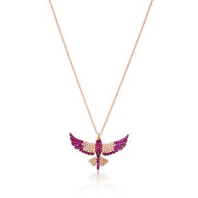 Phoenix Bird Pendant Turkish Wholesale Handcrafted 925 Sterling Silver Jewelry