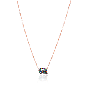 Delicate Elephant Design Pendant Wholesale Handcrafted 925 Sterling Silver Jewelry