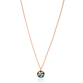 Snowflake Pendant Turkish Wholesale 925 Sterling Silver Jewelry