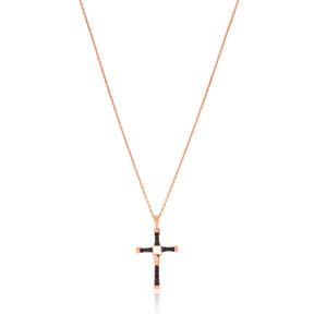 Cross Elegant Design Pendant Turkish Wholesale 925 Sterling Silver