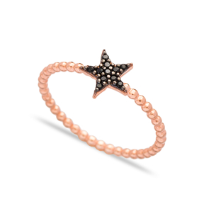 Star Design Ring Wholesale Handcrafted 925 Sterling Silver Jewelry