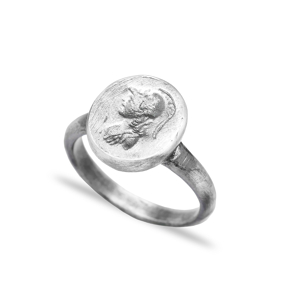 Medallion Vintage Ring Wholesale Handmade 925 Silver Sterling Jewelry