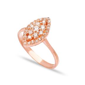 Handmade Elegant Design Engagement Ring Wholesale 925 Sterling Silver Jewelry