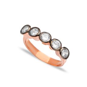 Fashion Zircon Stone Ring Wholesale Handmade 925 Sterling Silver Fine Jewelry