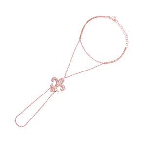 Lily Flower Trendy Minimalist Design Wholesale Handmade Turkish Slave Bracelet