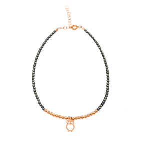 Hematite Stone Charm Bracelet Wholesale Handmade Turkish Jewelry Bracelet