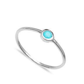 Simple Design Wholesale Handcrafted Silver Ring